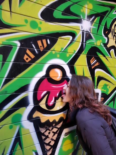 Barri Gotic Barcelona graffitti