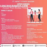 Open Recruitment at PT. Impact Power Mandiri Jawa Timur Juli 2020