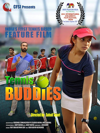 Poster Of Hindi Movie Tennis Buddies 2019 Full HD Movie Free Download 720P Watch Online
