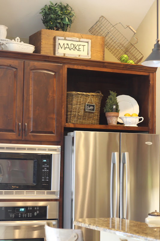 cabinets+and+xbox+004 Shelving Above Fridge Kitchen Ideas on windows above fridge, lighting above fridge, cabinets above fridge, baskets above fridge,