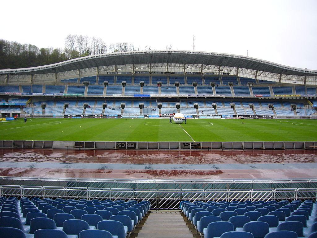 Estadio de la Real Sociedad - Anoeta - Fotografía: Dilema (cc:by-sa)