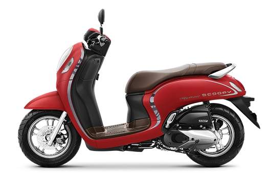 All new Scoopy stylish red