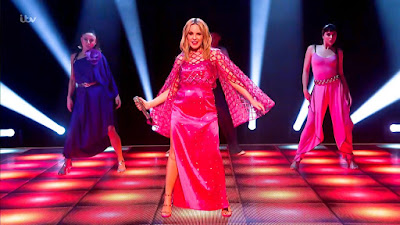 Kylie Minogue Continues Her Musical Dominance Strutting New Tune  'Real Groove' Live On The Jonathan Ross Show!