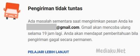 Pengiriman Email Tidak Tuntas Di Gmail