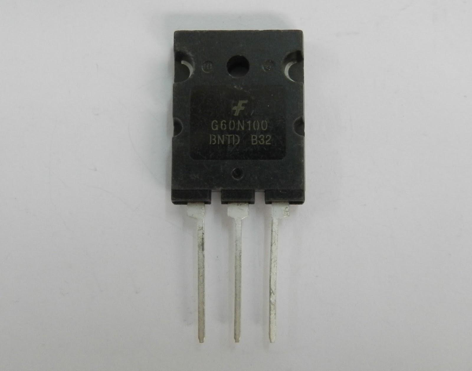 Electronics Part Reviews: FGL60N100BNTD Discrete IGBTs FAIRCHILD