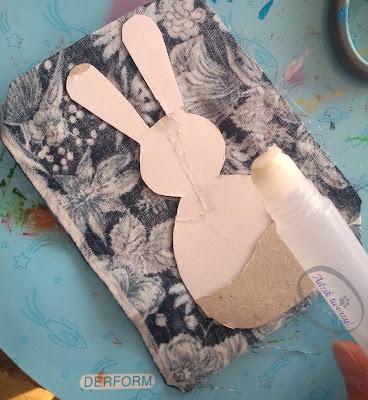 Adzik tworzy - DIY ozdoby wielkanocne na patyku upcykling