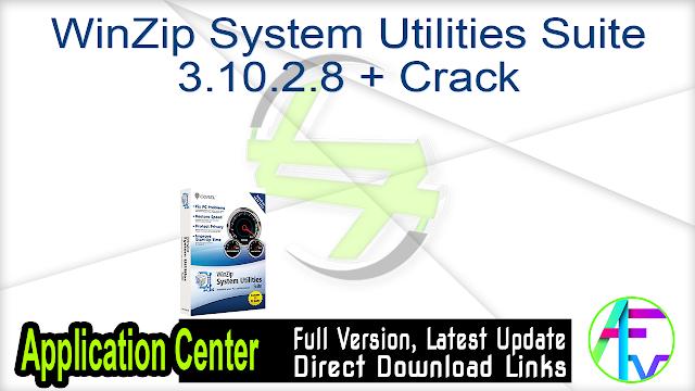 WinZip System Utilities Suite 3.10.2.8 + Crack