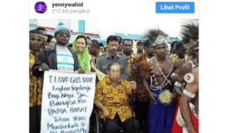 Pesan Menyentuh Putri Gus Dur: Papua Adalah Kita, Kita Adalah Papua