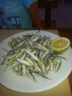 pescare e mangiare
