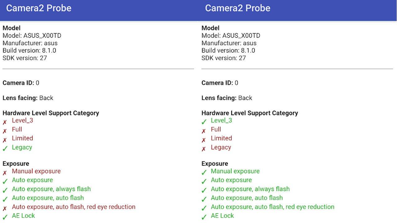 Install Camera2API Asus Zenfone Max Pro M1
