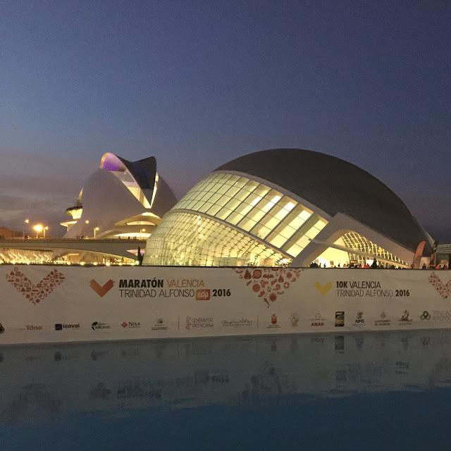 Maratón de Valencia, Mi Diario Runner, ciudad de las artes y las ciencias