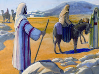 At eighty years of age, Moses took his wife and their two sons to Egypt.
