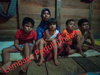 Tiga Bersaudara dari keluarga Kurang Mampu, di Aceh Timur Mengalami Lumpuh