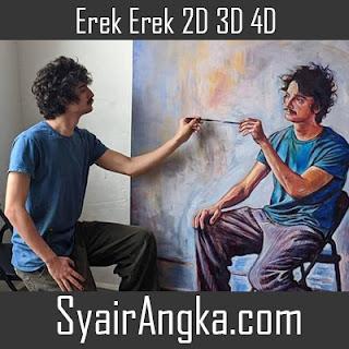 Erek Erek Menjadi Pelukis 2D 3D 4D