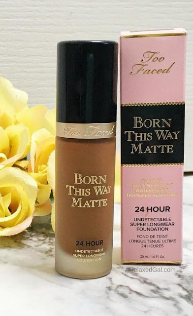 Too Faced Born This Way Matte Foundation Review | A Relaxed Gal