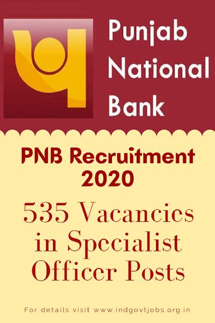 PNB Recruitment