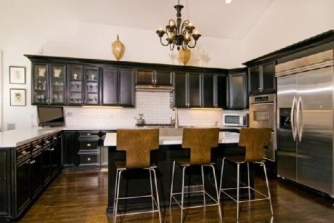Gabinetes de Cocina Negros  Muy Elegantes  Cmo Disear