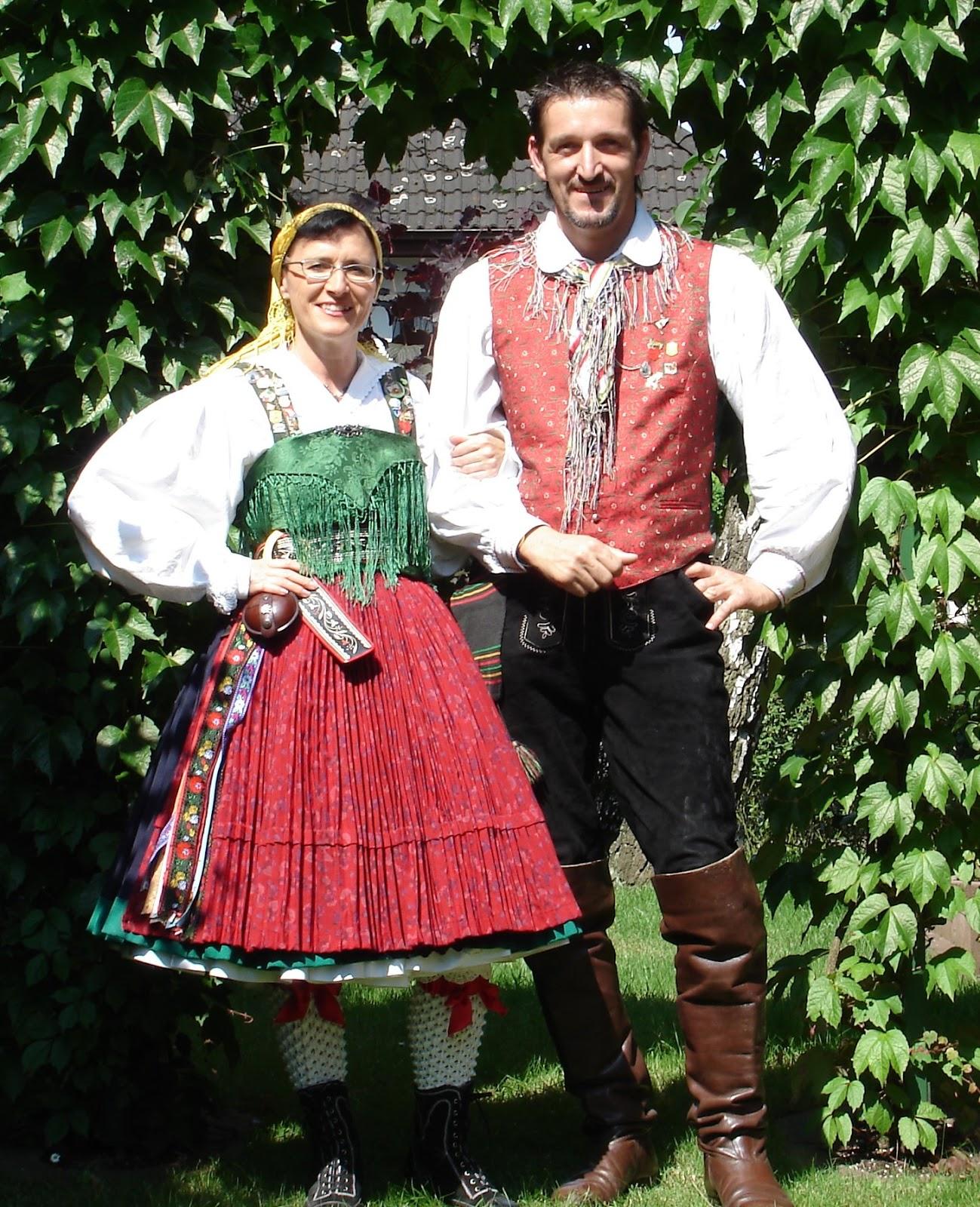 Traditional: FolkCostume&Embroidery: Slovenian / Austrian Costume Of