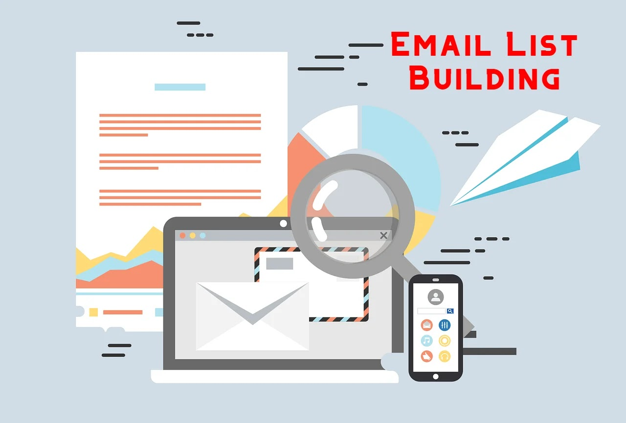 Neglect building an email list