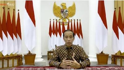 Pasar Rakyat Bisa Buka, Presiden Jokowi Perpanjang PPKM level 4 dengan beberapa Penyesuaian