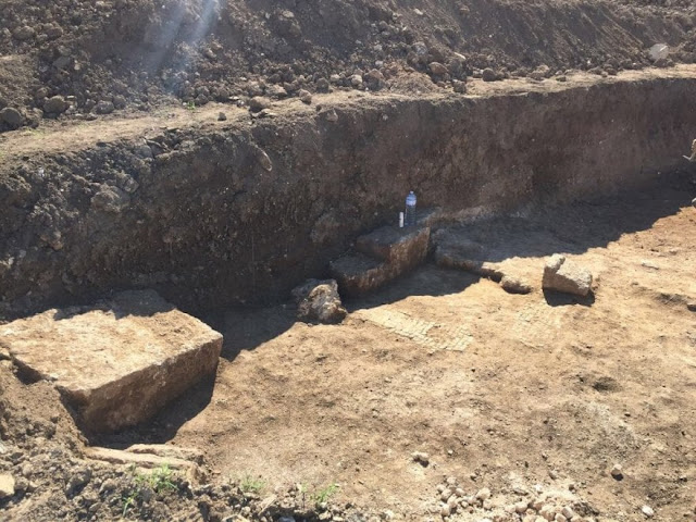 Archaeological finds at the city stadium of Syracuse