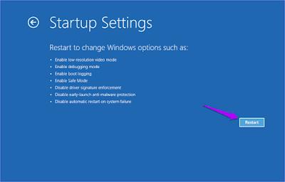 Langkah 7 Masuk Safe Mode Windows 10 Secara Paksa