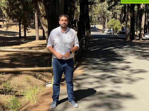 El Cabildo destina 2,2 millones de euros a mejorar la seguridad vial de la carretera de El Pilar