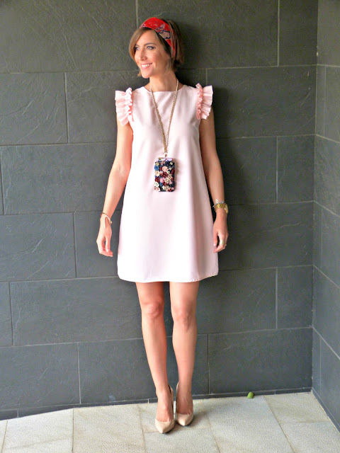 Fitness And Chicness-Light Pink Dress Vestido y Tacon-2