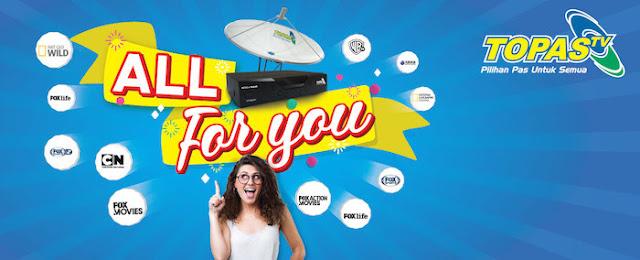 Daftar Harga Paket Topas TV Terbaru