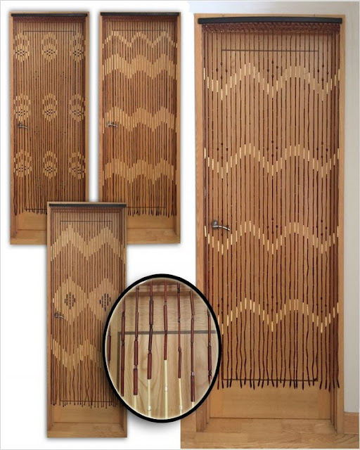 wooden beaded curtains for doorways on sale