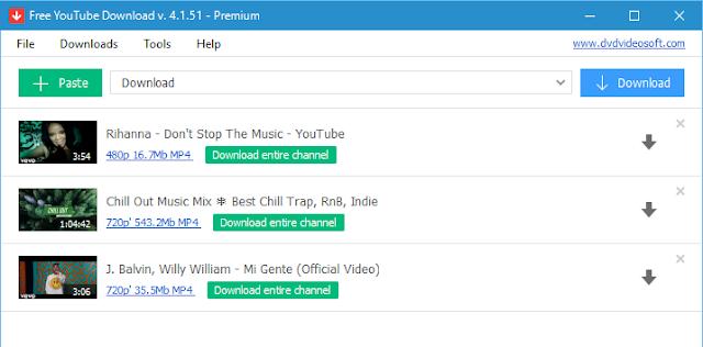 تحميل برنامج Fast YouTube Downloader