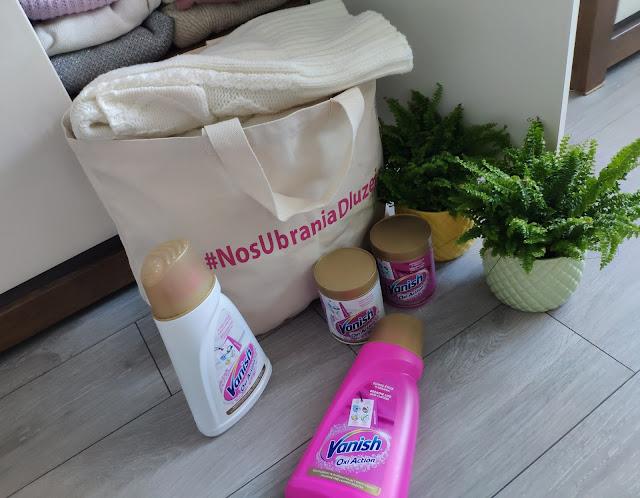 #nosubraniadl;uzej Nowa akcja Vanish zachęcająca do oddania niepotrzebnych ubrań!