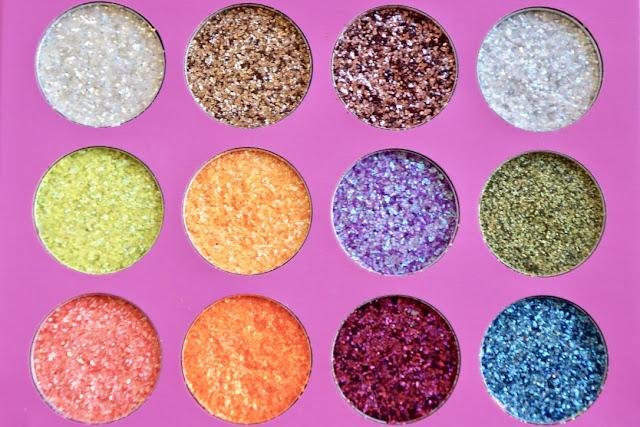 Resenha Paleta Ruby Rose Colour Fest Glitter Prensado cores