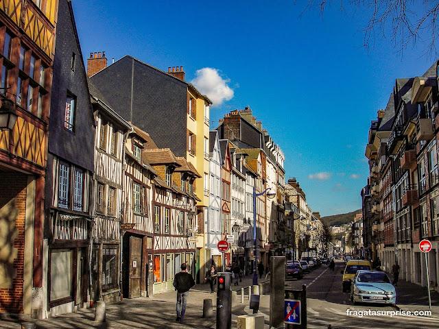 Centro Histórico de Rouen, França