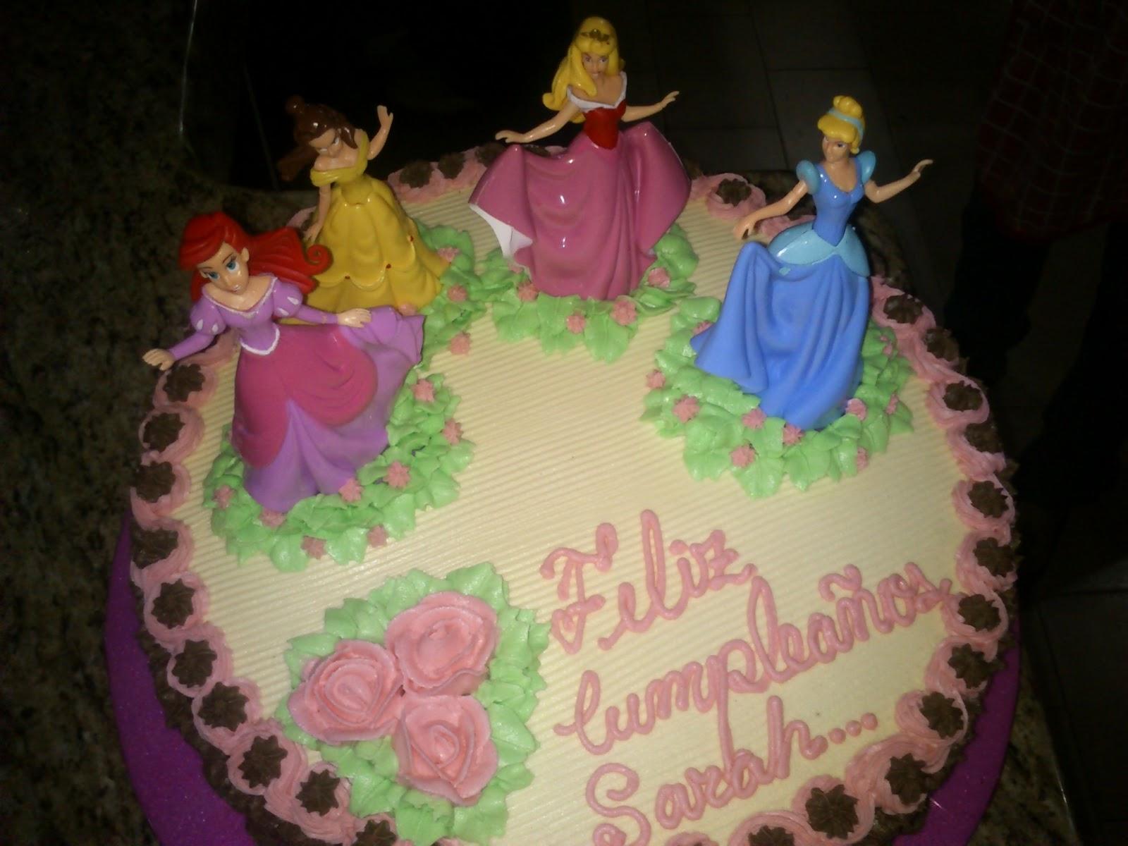 torta de cumpleaos princesa - photo #25