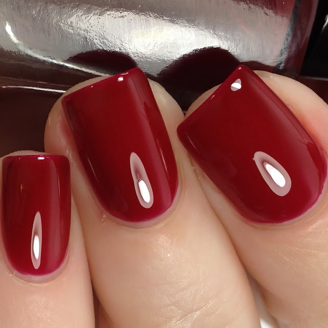 EDK Nails-Cherry Red
