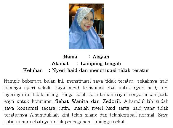 Testimoni Walatra Bersih Wanita