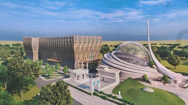 Masjid Ayodhya dengan desain futuristik, juga akan membangun rumah sakit