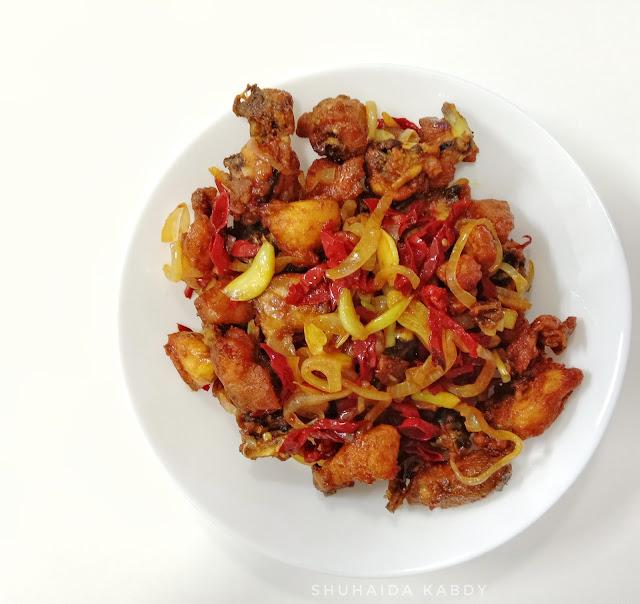 Resepi Ayam Goreng Pedas
