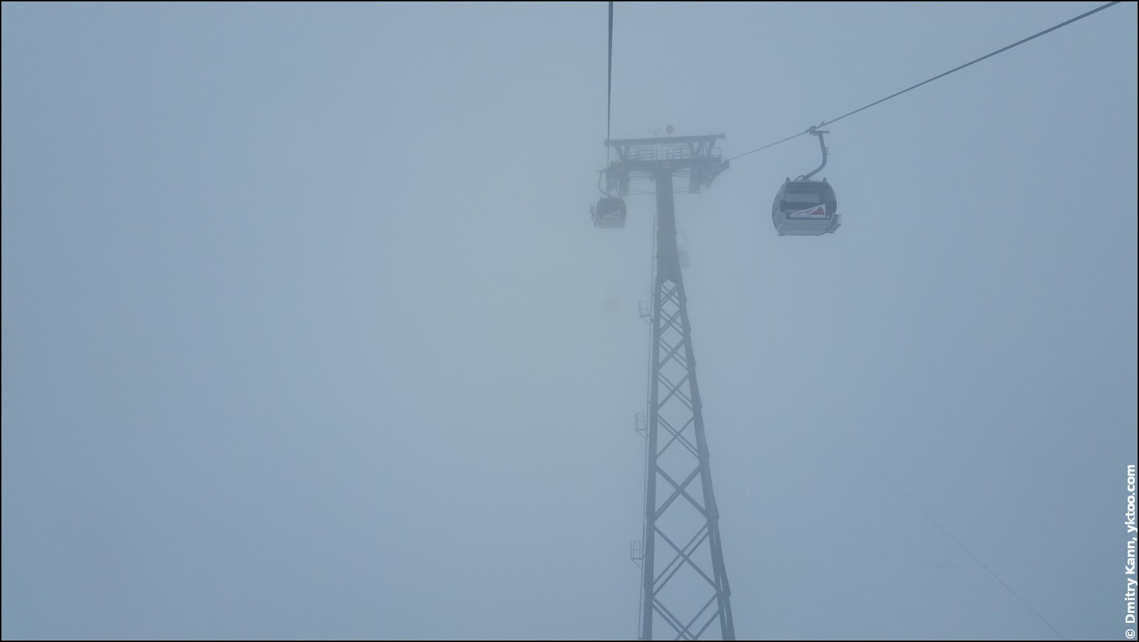 Подъёмник на Tiefenbach Gletscher.