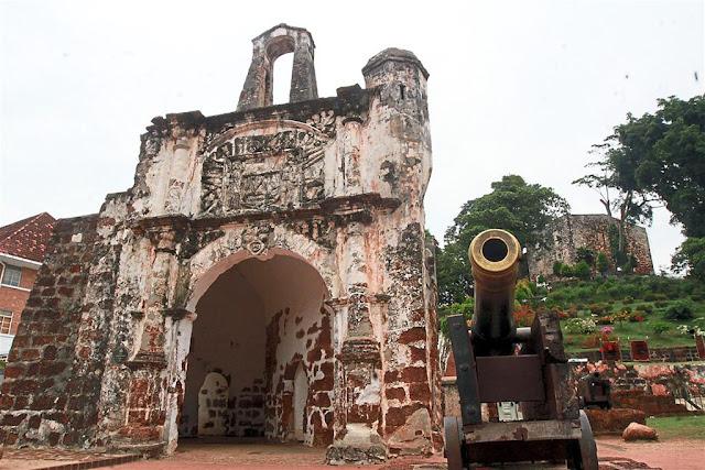 Pháo đài A Famosa – Dấu ấn Bồ Đào Nha