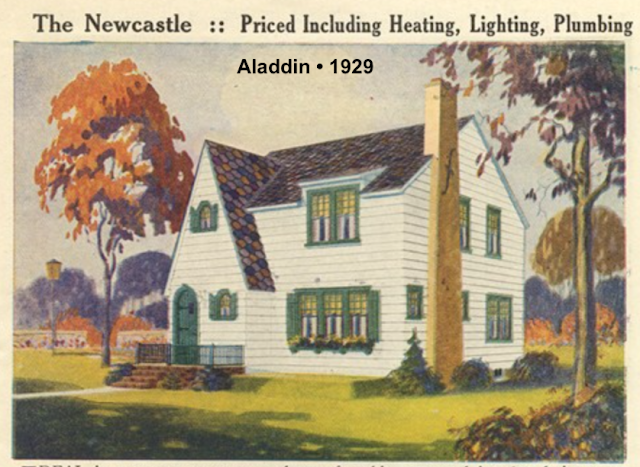 lookalike to Sears Barrington Aladdin Newcastle 1929 catalog image