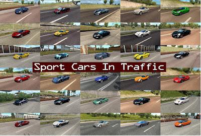 Sport Cars Traffic Pack by TrafficManiac v5.6