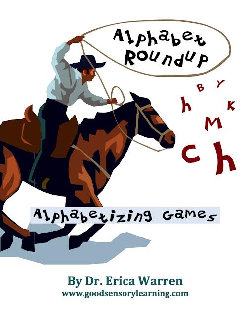 Alphabetizing games
