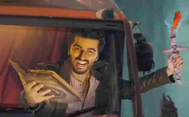 bhoot police trailer : भूत भगाने कभी पैसे तो कभी शराब की डिमाण्ड करते दिखे सैफ