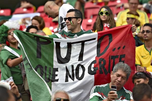 Puto en los estadios de Mexico y el mundo | Ximinia
