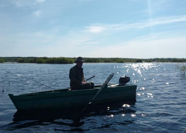 на рыбалке со спиннингом