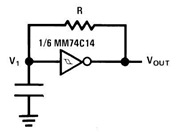 Construct Square Wave Oscillator using CMOS Logic Element