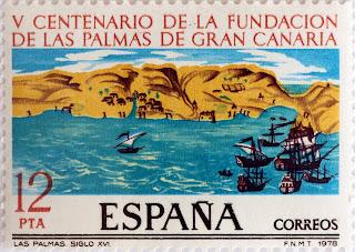V CENTENARIO DE LA FUNDACIÓN DE LAS PALMAS DE GRAN CANARIA