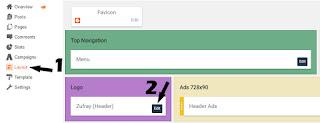 Cara Mengganti Judul Blog dengan Gambar/Logo Step 1